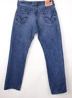 Levi's Strauss & Co Herren 506 Gerades Bein Jeans Größe W36 L34 BBZ380