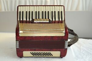 Piano accordion WELTMEISTER 48 bass - DEFECTIVE, FOR PART price includes 20% VАТ