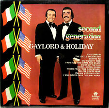 RARE! Gaylord & Holiday - Second Generation 1970s LP / Album - MWS 7008 1975