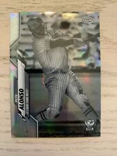 2020 Topps Chrome Pete Alonso Negative Refractor #80