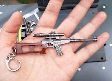 PUBG VSS Vintorez GUN BattleField4 Battleground 3.7inch Keychain