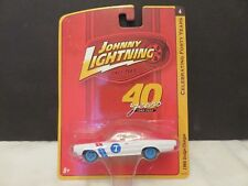 Johnny Lightning 1966 Dodge Charger #7 White/Red JL#4 2000 40th Anni