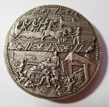 """Médaille artistique """" Ville de Bayeux """" - bronze argenté"""
