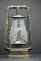 Vintage - Dietz Monarch - Kerosene Lantern Lamp - Clear Original Glass Globe, NY