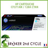 CARTOUCHE D'ENCRE D'ORIGINE HP HEWLETT PACKARD CF371AM / 128A CYAN