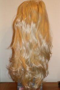 "Elegant 25"" Wavy & Flick 3/4 Half Wigs High Quality Stranded Synthetic Fibre"