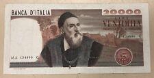 Italy, 20.000 Lire 1975 Tiziano - Rare - Nice Crisp VF