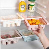 1X(Creative Refrigerator Storage Box Fresh Spacer Layer Storage Rack Drawer B8T2