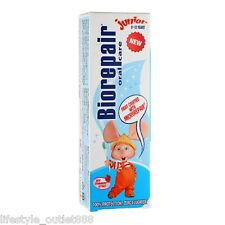 Biorepair Oral Care Junior Toothpaste 0~13 years 50ml 100% Protection Free Ship