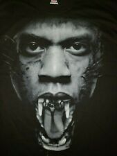 2011 Jay Z Kanye West Watch The Throne Tour Tee Shirt XXL Hip Hop Rap Yeezy