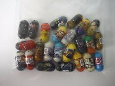 Lot of Moose's Mighty Beanz x 24 Star Wars Marvel etc Spin Master