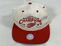 Detroit Red Wings NHL Vintage Logo 7 1998 Stanley Cup Champions Snapback Hat