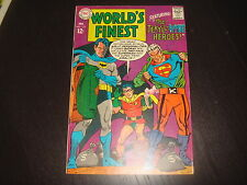 WORLD'S FINEST #173 1st Silver Age Two DC Comics 1968 Higher Grade VF 8.5