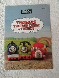 Alan Dart Knitting Pattern Thomas The Tank Engine & Friends Toys