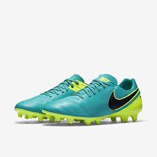 NEW Nike Tiempo Mystic V FG Men Soccer Cleats Clear Jade Volt 819236-307 SZ 10