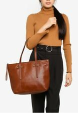Fossil Felicity Medium Brown Leather Tote SHB1981210 Shoulder Bag