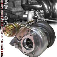 T25/T28 Turbocharger .80 A/ R Trim w/ Internal 7PSI Wastegate T25 Turbo Flange