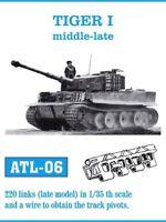 FRIULMODEL ATL-6 1:35 German Tiger I Mid-Late Track Set (220 Links) Metal Kit