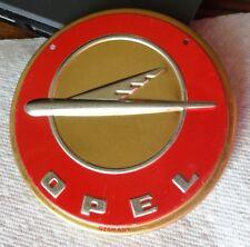 1950s Wheaties Cereal OPEL Steel Metal Auto Car Emblem Badge Logo Premium