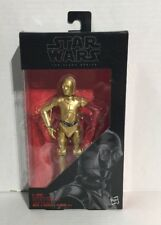 "Star Wars Black Series #29 C-3PO Dark Red Arm Variant 6"" Figure New Sealed"