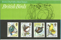 Set Of 4 British Post Office Mint Stamps British Birds 16th January 1980 U605