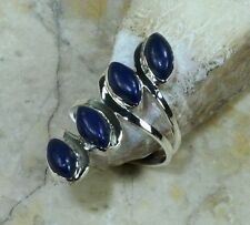 Lapis Lazuli Sterling Silver Fine Rings