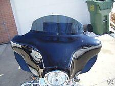 """6"""" Dark Smoke windshield Harley Touring 1996-2013"""