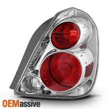 Fit 2005-2006 Altima Passenger Side Chrome Tail Light Brake Lamp Replacement
