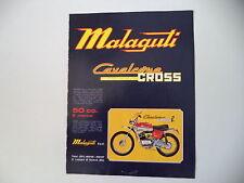 advertising Pubblicità 1973 MOTO MALAGUTI CAVALCONE CROSS 50 R