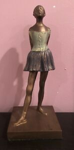 """Edgar Degas Replica Little Dancer Ballerina Sculpture approx. 9"""""""