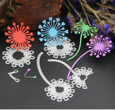 Cutting dies Dandelion for Scrapbooking and Paper Crafts Embossing Machine DIY