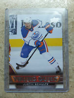 13-14 UD Serie 1 Rookie RC #240 YG Young Guns JUSTIN SCHULTZ