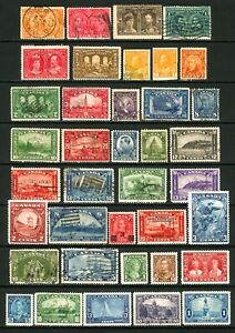 Canada #51 / #227 1897-1937 Assorted Commemoratives, Odds 'n Ends Mint & Used
