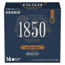Folgers 1850 Black Gold Coffee Keurig 16 to 64 K cups Pick Any Size FREE SHIP