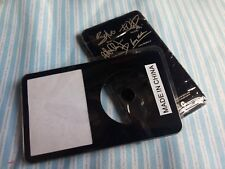 black front faceplate U2 metal back housing case for iPod 5th gen video 30gb