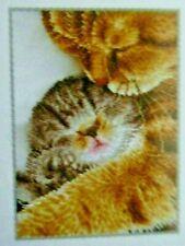 """Diamond Dotz Complete  Cat and Kitten  Diamond Facet Art Kit """"TENDER MOMENT"""""""