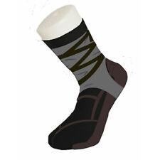Silly Novelty Funny Shoe Print Ninja Warrior Cotton Trainer Socks Gift Size 5-11