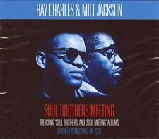 RAY CHARLES & MILT JACKSON - SOUL BROTHERS MEETING (NEW SEALED 2CD)