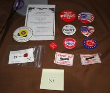 Perot 1992  Pinback Pin Limited Edition - Others & Lapel Pins - QTY 11 - N - 1