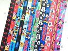 lot Cartoon mickey Minnie Neck Straps Key Chains Lanyard ID Holder