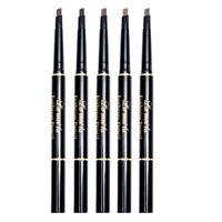 Waterproof Eye Brow Eyeliner Eyebrow Pen Pencil With Brush Makeup Cosmetic  S_AU
