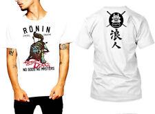 Samurai T-Shirt Japanese Assassins Bushido Warriors Era Katana Sword  tee