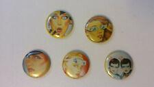 Gerry the Cat 80's artist buttons set vintage SMALL BUTTON set 2