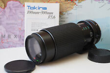Tokina RMC 100-300mm 1:5.6 Lens for Pentax K PK EXCELLENT