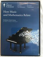 Great Courses:How Music and Mathematics Relate Course Book & 3 DVD Set Fogle
