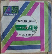 "Billy Vera & Judy Clay - Country Girl - City Man - 7"" NZ 1968 Atlantic AK-2240"