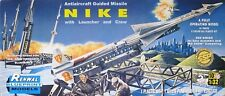 Renwal-Revell SSP 1/32 Nike Ajax Guided Anti-Aircraft Missile w Launcher + Crew
