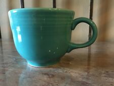 Fiesta Ware Cup Multi Colors Saucer USA Homer Laughlin