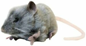 Hansa Mouse Plush, Gray No.5579