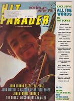 NOV 1969 HIT PARADER music magazine BOB DYLAN - JOHN LENNON - JIMI HENDRIX